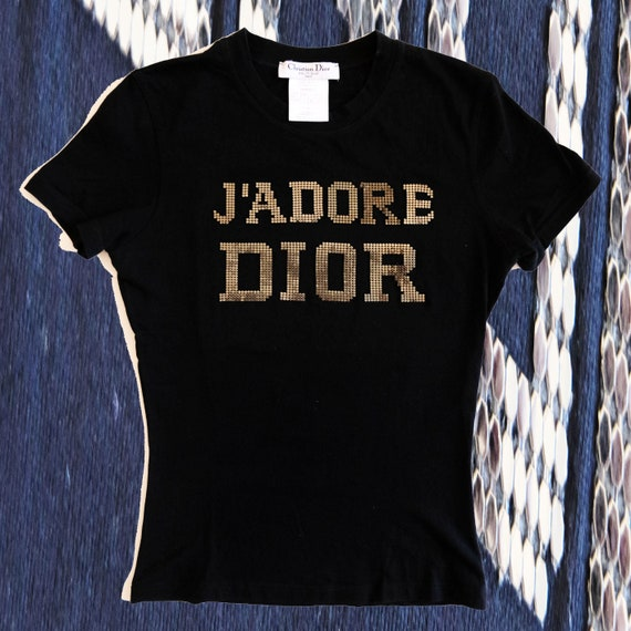 T-shirt j'adore Dior The latest blonde