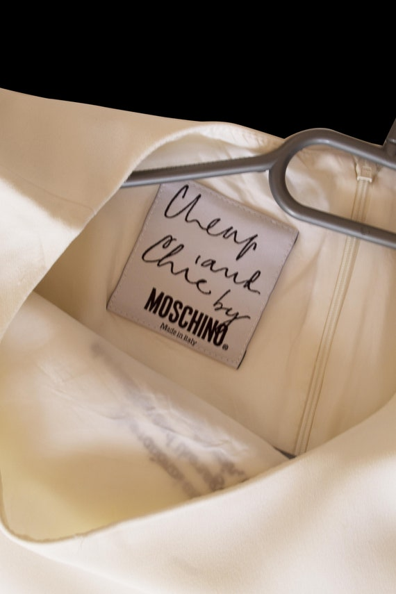 Cheap and Chic by Moschino white dress - image 6