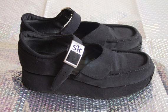 Stephane Kélian 90s platform loafer