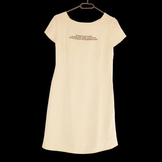 Cheap and Chic by Moschino white dress - image 2