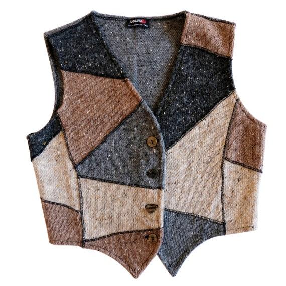 Lolita Lempicka patchwork top gilet