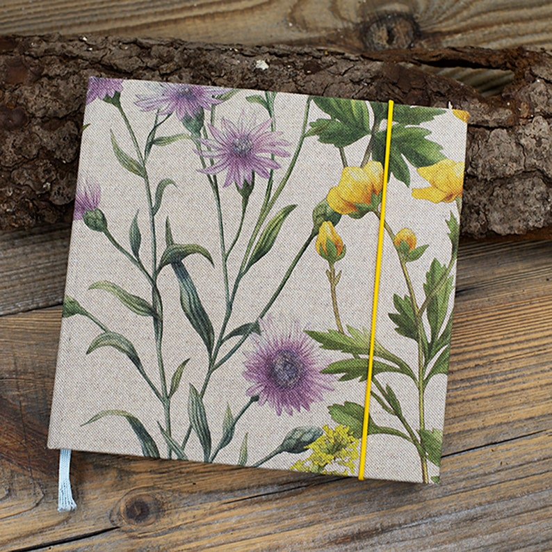 Notebook  Flowers Square image 0