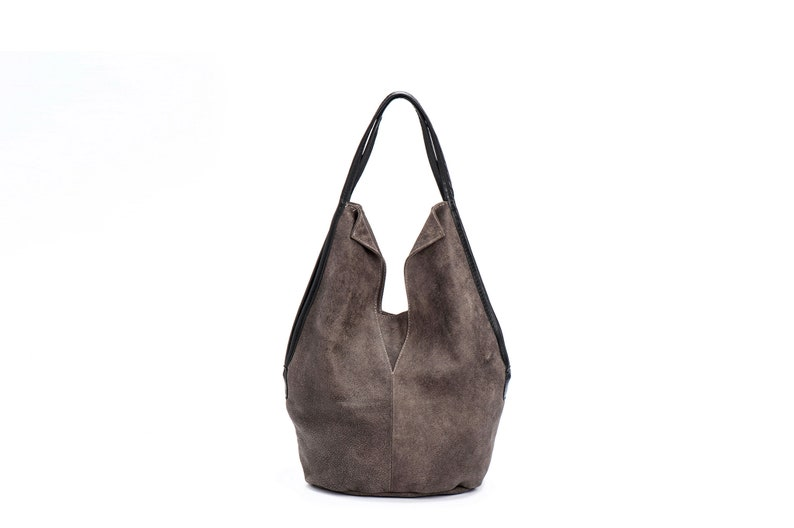 5d0fd0f6 Brown Leather Tote Bag/Casual Shoulder Bag/ Fully lined /zippered /Highest  quality leather