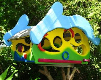 bird feeder, bird feeder, balcony, terrace, garden decoration, kindergarten, daycare farewell gift, bird, spring, Mother's Day, dumplings