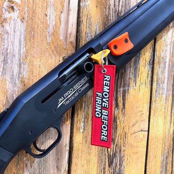 3-gun tool .223 5.56 7.62 .308 Chamber Safety Rifle Flag Remove Before Firing