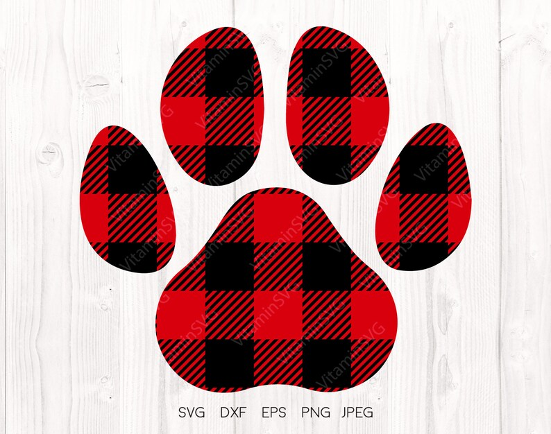957f3784 Buffalo plaid paw svg, Paw svg, Animal paw svg, Paws svg, Cat Paw, Dog paw,  Paw Print, Pet Paw Clipart, Cricut downloads, Silhouette designs