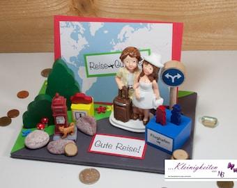 Geldgeschenk Hochzeit Berge Flitterwochen Gutschein Etsy