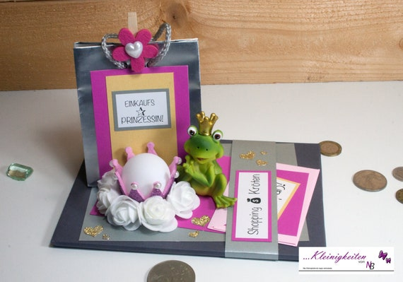 Money Gift Shopping Coupon Shopping Voucher Toads Etsy