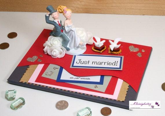 Geldgeschenk Hochzeit Gutschein Geld Hochzeitsgeschenk Etsy