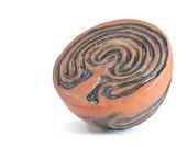 "Blanket of Stars"" Handsculpted Ergonomic Finger Labyrinth for mindfulness, meditation, healing, general wellness and home decor"
