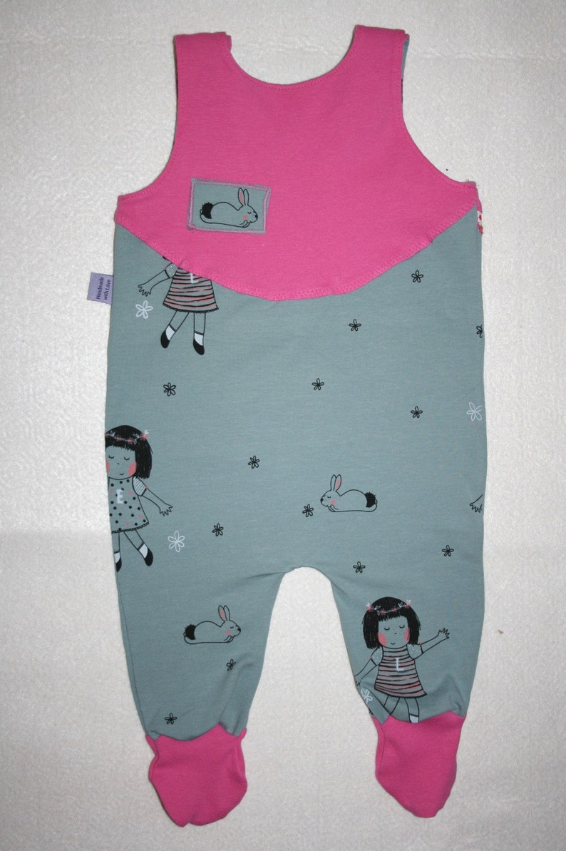 1898654727cf Sweet baby romper suits with foot Lotte   Elise Gr. 68