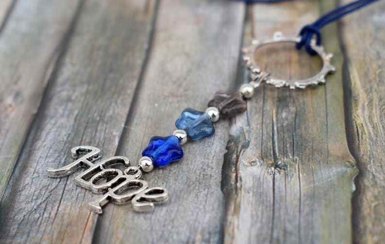 Necklace / Necklace / Glass Bead Necklace / Long Chain / image 0