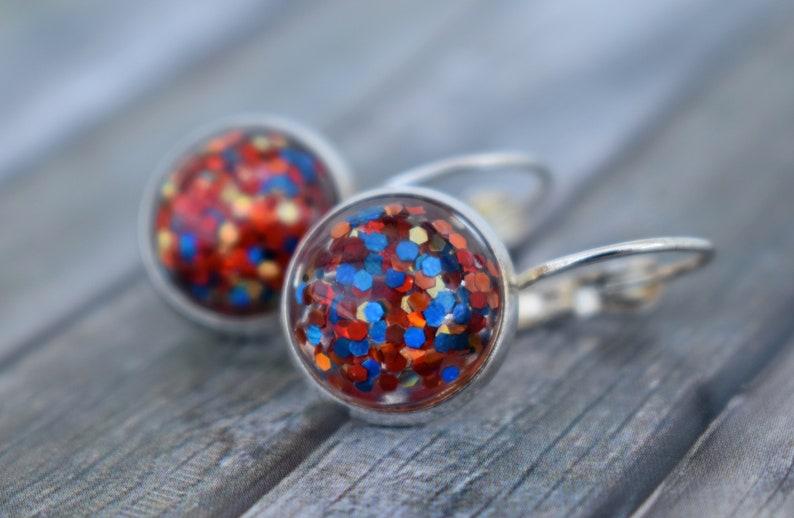 Earrings / woman earrings / cabochon earrings / earrings / image 0