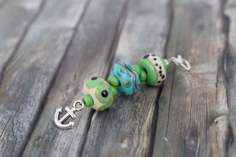 Trailer/Glass Pearl Pendant/Chain Pendant/Jewelry image 0