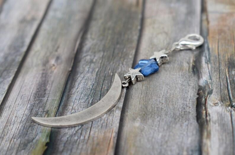 Pendant / glass bead pendant / chain pendant / star / asterisk image 0