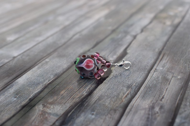 Pendant / chain pendant / glass bead pendant / jewelry pendant image 0