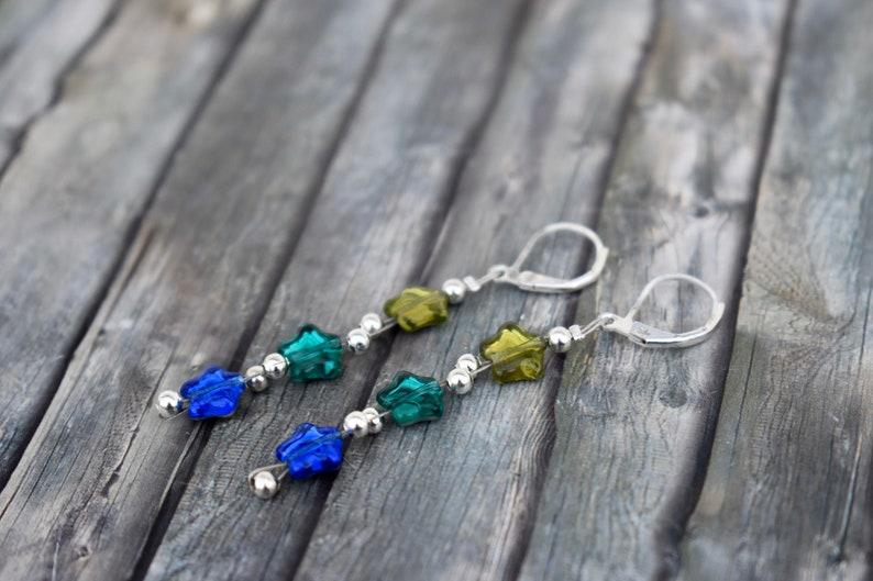 Earrings / Earrings / Earrings / Glass Bead Earrings / Glass image 0