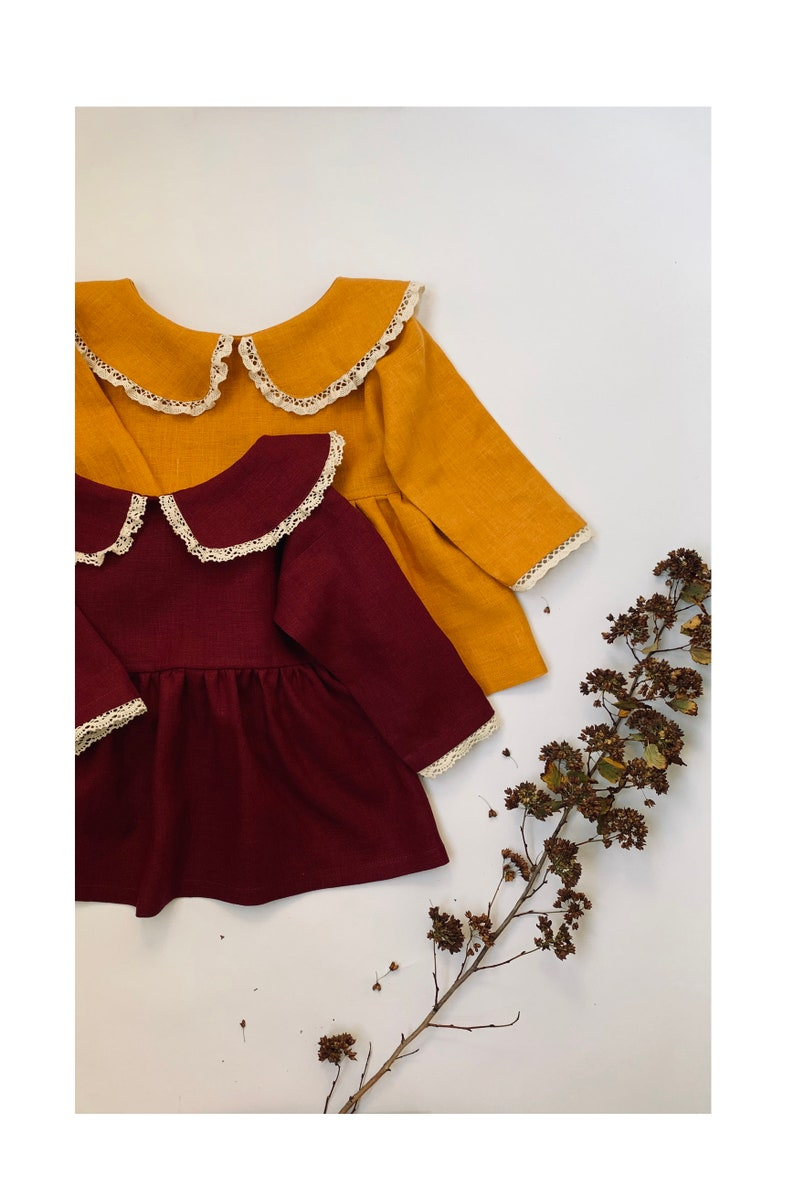 Green Linen Linen Clothing Girls Mustard Bloomers Organic Bloomers Linen Bloomers