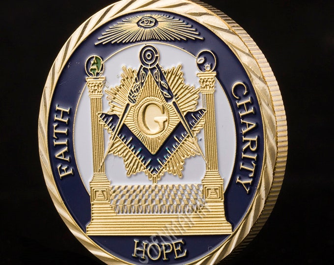 Masonic medals coins