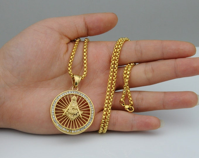 Masonic Freemasonry Pendant