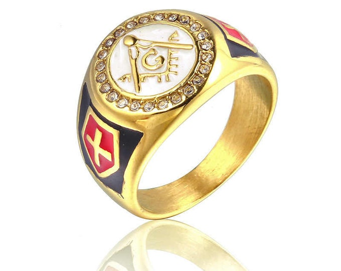 Master masonic ring