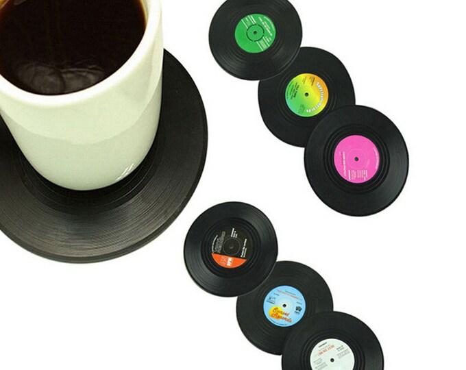 Vintage vinyl plate like tableware
