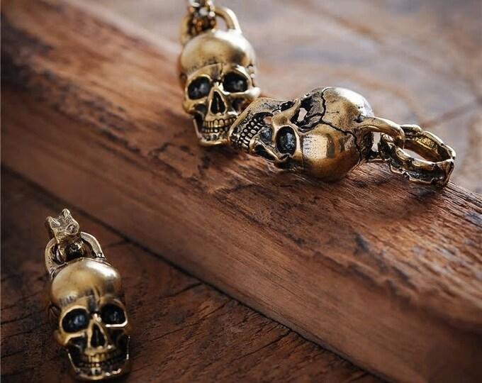 Skull Keychain DIY Skull