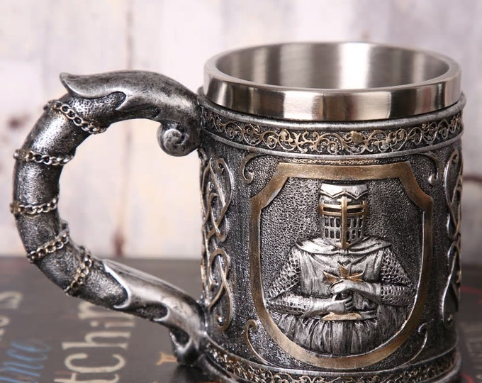 3D Viking Skull Coffee - Beer - Mug