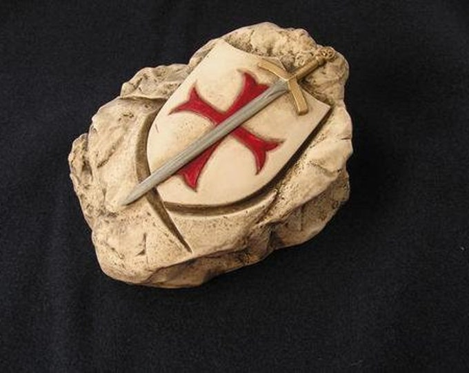 Shield and Sword (hard porcelain)