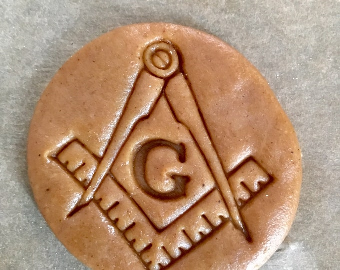 Masonic Square and Compasses cookie cutter
