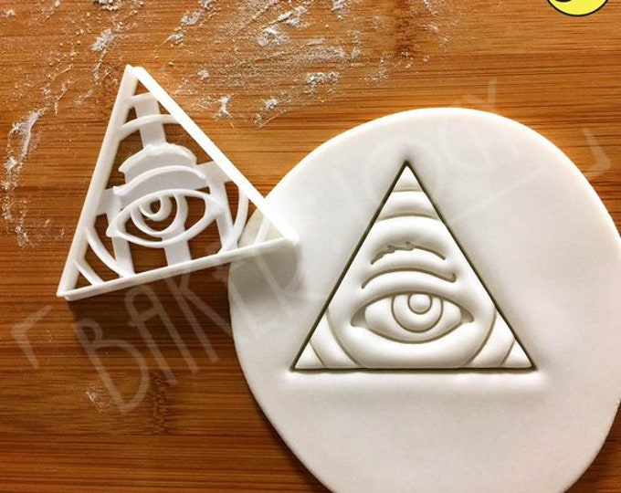 Eye of Providence cookie cutter
