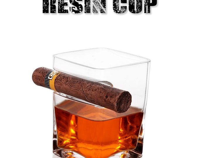 Creative Thicken Square Whisky/Cigar Glasses