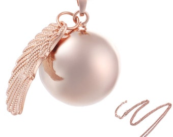 Pregnancy bola, pregnant woman's necklace, maternity gift, pregnancy accessory