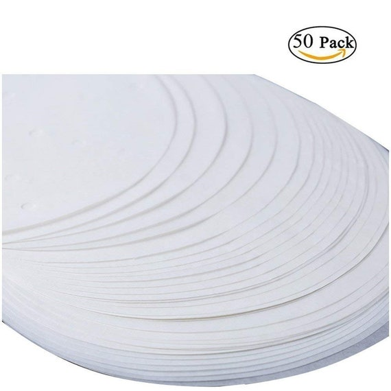 """Round Baking Paper Tin Liners 250 pack Greaseproof Circles 5/"""" Inch"""