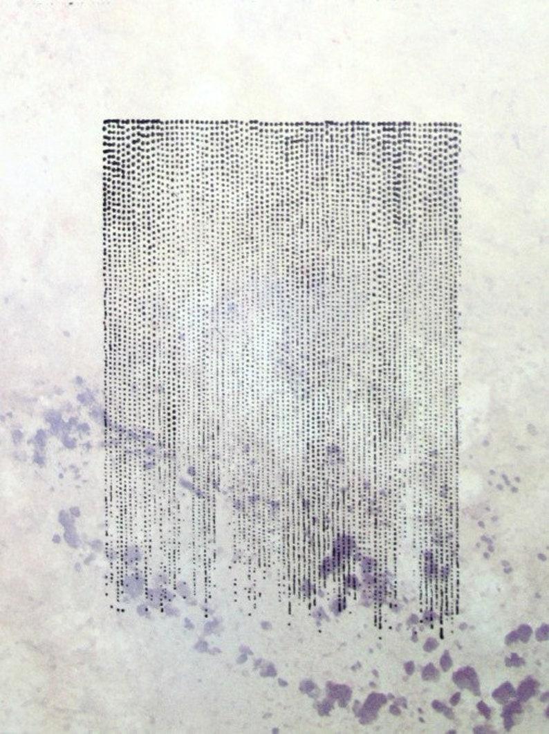 Stamp ST-076 Punkte ~ UMR Stempel