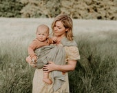"Ring Sling Baby Carrier ""Meadow"""
