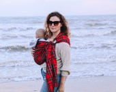 "Ring Sling Baby Carrier ""Althea"""