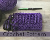 Crochet Zipper Pouch| Crochet Pouch with Divider| (PDF PATTERN) Instant download
