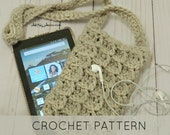 Crochet Pouch Kindle/E-Reader Carrying Bag (PDF PATTERN) Instant download
