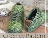 Crochet Booties//Crochet Socks// Crochet Slipper //Sneak a Peek Crochet Booties (PATTERN) pdf Instant Download