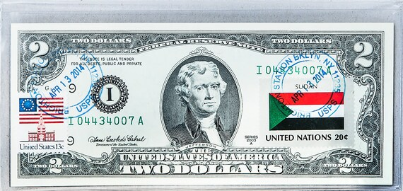 *Rare Uncirculated $2 Dollar Bill Banknote Collectible **US SELLER**