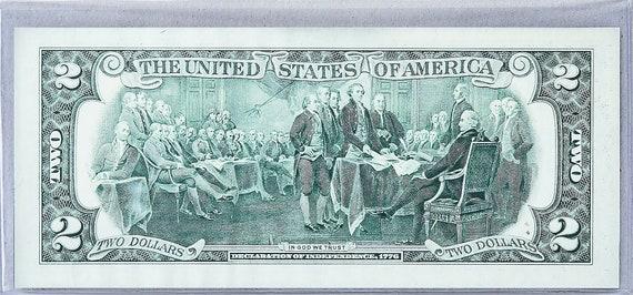MONEY US $2 DOLLARS 1976 RICHMOND FIRST STAMP CANCEL /& WINTER HOLIDAY GEM UNC
