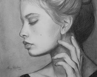 Original Fine Art Portrait