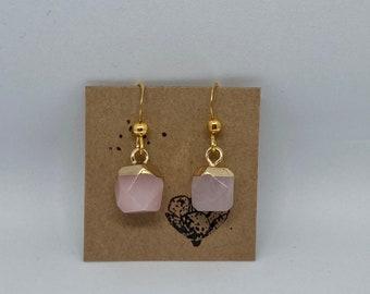 Earrings earrings gold rosé