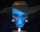Star Wars Duros Cad Bane from Clone Wars Printable Full Size Head with Extras