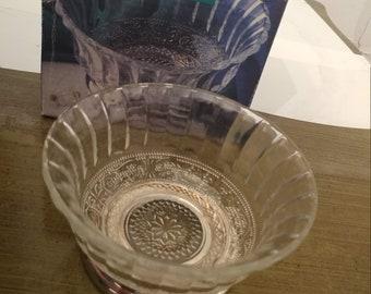 Small Lead Crystal Pedestal VaseCollectors Crystal Galleries By Fairfield  Vase