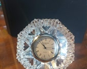 Vintage Waterford Crystal Lismore Diamond Clock