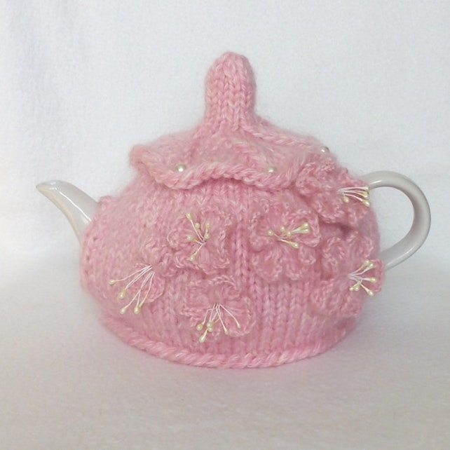 Tea Cozy Knitted Tea Cosy Teapot Cosy Tea Cosy Tea Etsy