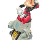 1-LinMar (Marx) Wind Up Tin Disney s Goofy on a Unicycle