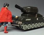 Super Rare Linemar SUPERMAN FIGHTING Turnover Tank